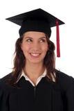 Vrouwelijke gediplomeerde Stock Foto's