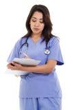 Vrouwelijke gezondheidszorgarbeider Royalty-vrije Stock Afbeelding