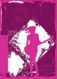 Vrouwelijke Gitarist vector illustratie