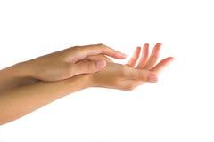 Vrouwelijke hand Royalty-vrije Stock Foto