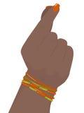 Vrouwelijke hand Stock Afbeelding