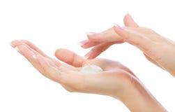 Vrouwelijke handen Royalty-vrije Stock Fotografie