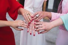 Vrouwelijke handen Royalty-vrije Stock Foto's