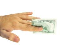 Vrouwelijke handholding Royalty-vrije Stock Afbeelding