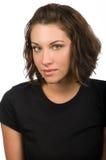 Vrouwelijke Headshot royalty-vrije stock afbeelding