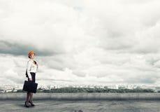Vrouwelijke Ingenieur Royalty-vrije Stock Fotografie