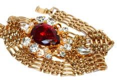 Vrouwelijke juwelen Royalty-vrije Stock Foto's