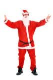 Vrouwelijke Kerstman Royalty-vrije Stock Foto's