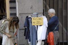 Vrouwelijke klanten Royalty-vrije Stock Fotografie