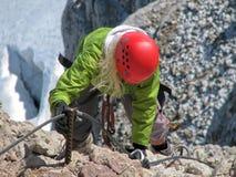 Vrouwelijke klimmer 4 Royalty-vrije Stock Afbeelding