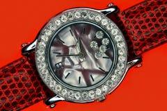 Vrouwelijke klok Stock Foto's
