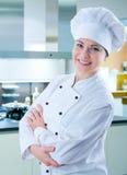 Vrouwelijke kok Royalty-vrije Stock Afbeelding
