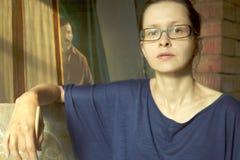 Vrouwelijke kunstenaar Stock Foto