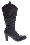 Vrouwelijke laarzen Stock Fotografie