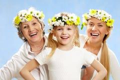 Vrouwelijke leeftijden Stock Fotografie