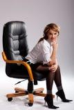 Vrouwelijke manager royalty-vrije stock afbeelding