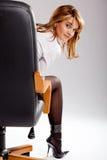 Vrouwelijke manager stock fotografie