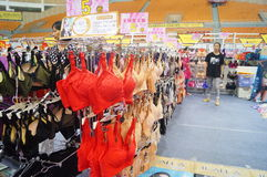 Vrouwelijke ondergoedverkoop Royalty-vrije Stock Afbeeldingen