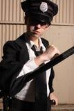 Vrouwelijke politieman Royalty-vrije Stock Afbeeldingen