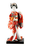 Vrouwelijke pop van Japan Royalty-vrije Stock Afbeeldingen
