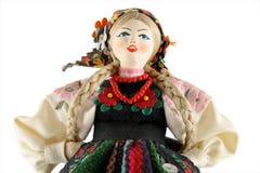 Vrouwelijke pop van Polen Royalty-vrije Stock Afbeelding