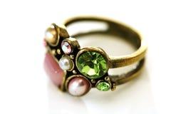 Vrouwelijke ring Royalty-vrije Stock Afbeeldingen