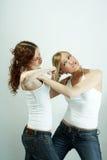 Vrouwelijke rivaliteit Royalty-vrije Stock Afbeeldingen