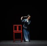 """Vrouwelijke rol-dans drama""""Mei Lanfang† Stock Afbeelding"""