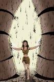 Vrouwelijke Samson Stock Fotografie