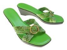 Vrouwelijke Schoen Stock Afbeelding
