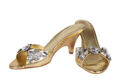 Vrouwelijke schoenen royalty-vrije stock foto's
