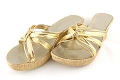 Vrouwelijke schoenen Stock Foto