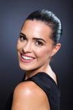 Vrouwelijke schoonheidszwarte Stock Fotografie