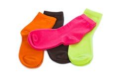 Vrouwelijke sokken stock afbeeldingen