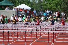 Vrouwelijke sprinters Royalty-vrije Stock Fotografie