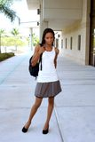 Vrouwelijke Student Royalty-vrije Stock Foto's