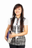 Vrouwelijke student Royalty-vrije Stock Afbeelding