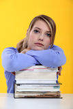 Vrouwelijke student Stock Fotografie