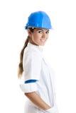 Vrouwelijke technicus Royalty-vrije Stock Afbeeldingen