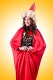 Vrouwelijke tovenaar Royalty-vrije Stock Afbeeldingen