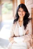 Vrouwelijke universitaire student royalty-vrije stock afbeeldingen