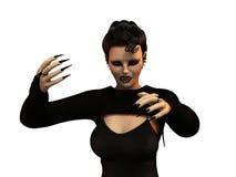 Vrouwelijke vampier royalty-vrije illustratie