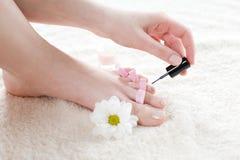 Vrouwelijke voet Royalty-vrije Stock Fotografie