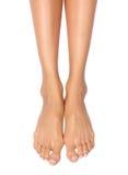 Vrouwelijke voeten Stock Fotografie
