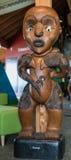 Vrouwelijke voorvader genoemd Erangi van de Waitakere-stam stock foto