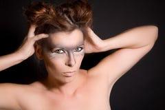 Vrouwelijke weerwolf royalty-vrije stock foto's