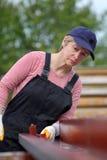 Vrouwelijke werknemer Royalty-vrije Stock Afbeeldingen