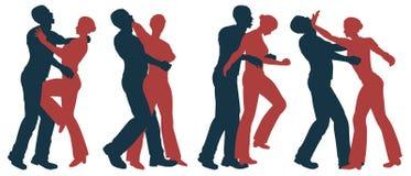 Vrouwelijke zelf - defensie vector illustratie
