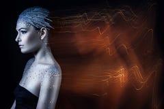 Vrouwelijke ziel Stock Foto's