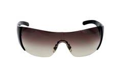 Vrouwelijke zonnebril die over wit wordt geïsoleerdn Royalty-vrije Stock Afbeeldingen